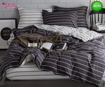 Двулицево спално бельо от 100% памук, 4 части с код 50-94