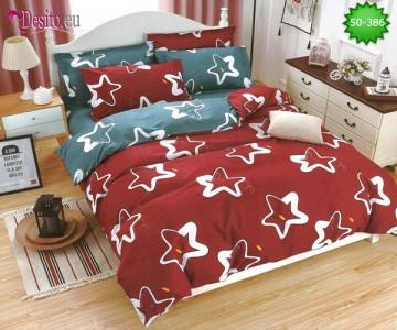 Двулицево спално бельо от 100% памук, 4 части с код 50-386