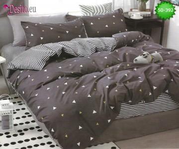 Двулицево спално бельо от 100% памук, 4 части с код 50-392