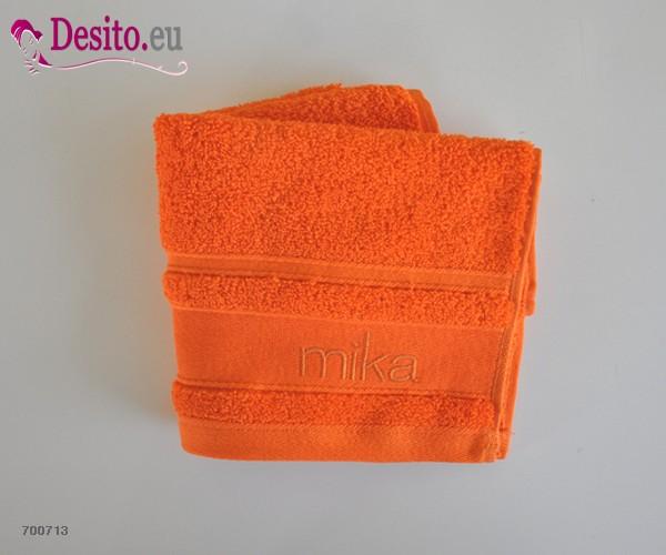 Хавлиени кърпи Мика - оранжево