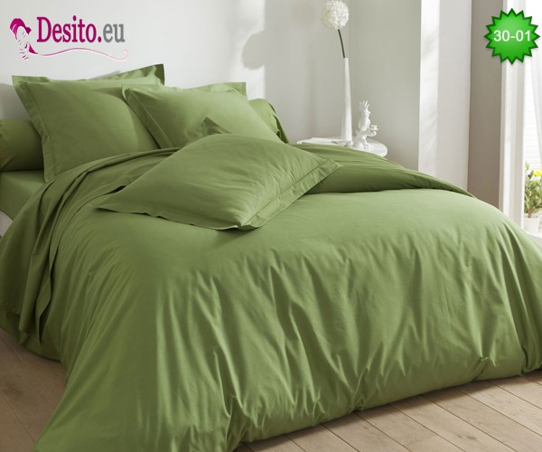 Едноцветно спално бельо 30-01