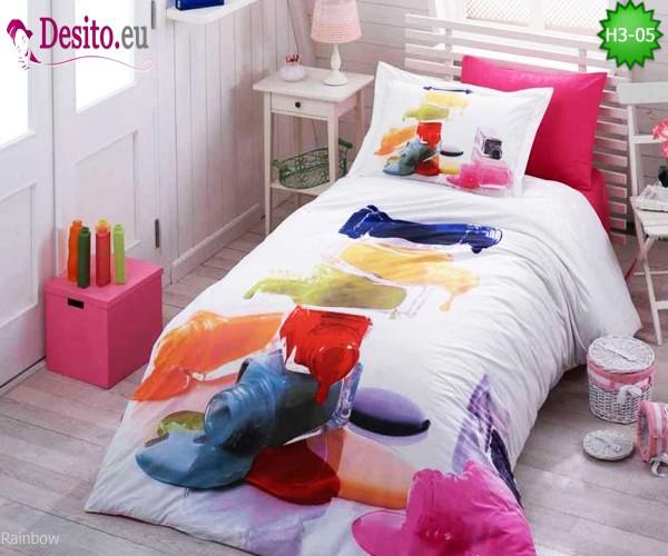 3D Единично спално бельо H3-05