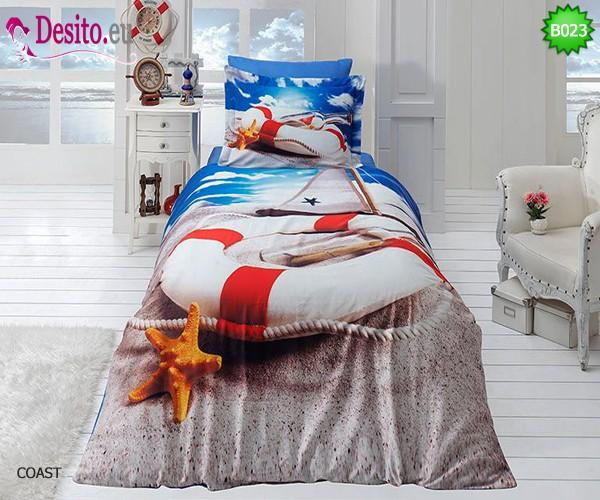 3D Единичен спален комплект B023 Coast