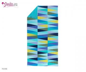 Плажна кърпа Pyramid Blue