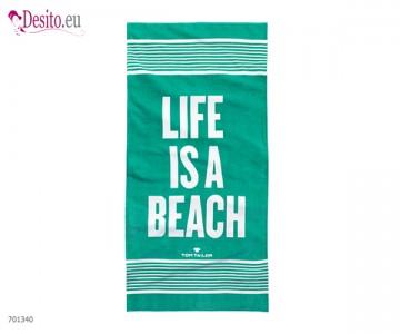 Плажна кърпа Tom Tailor - Mint