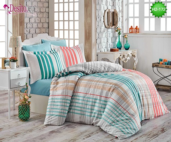 Спално бельо от Поплин H2-172