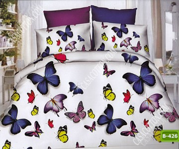 5D спално бельо с код B-426