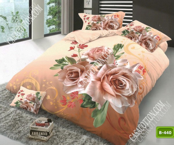 5D спално бельо с код B-440