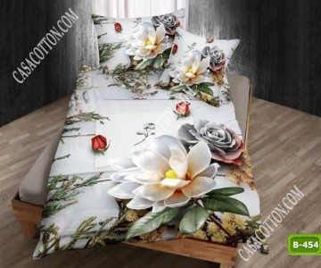 5D спално бельо с код B-454