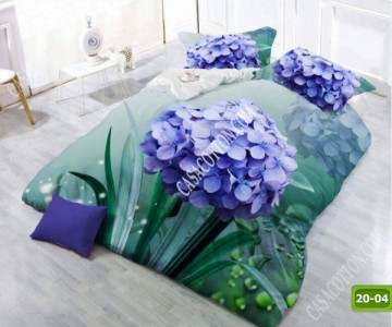 5D спално бельо с код 20-04