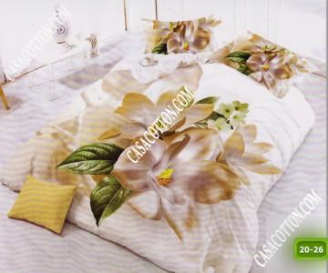 5D спално бельо с код 20-26