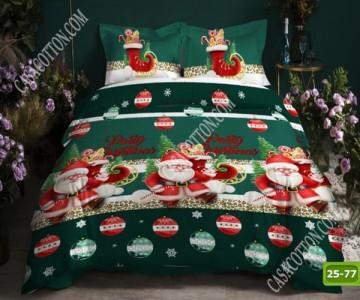 Коледно спално бельо с код 25-77