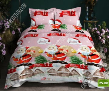Коледно спално бельо с код 25-80