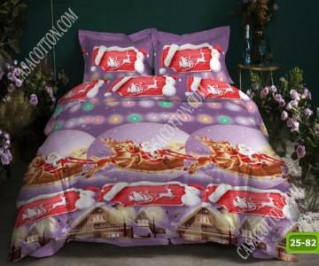 Коледно спално бельо с код 25-82