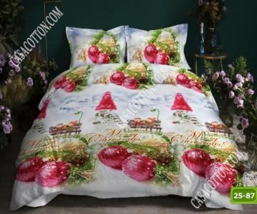 Коледно спално бельо с код 25-87