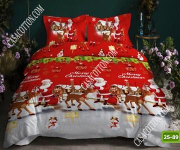 Коледно спално бельо с код 25-89