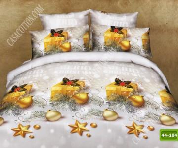 Коледно спално бельо с код 44-104