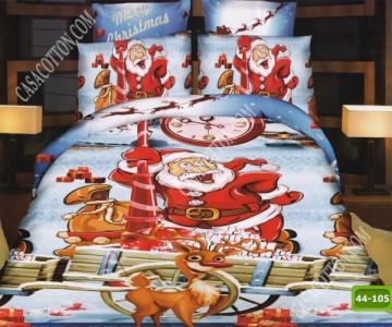 Коледно спално бельо с код 44-105
