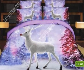 Коледно спално бельо с код 44-106