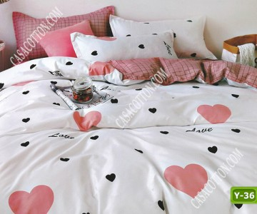 Единично спално бельо с код Y-36