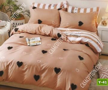 Единично спално бельо с код Y-41