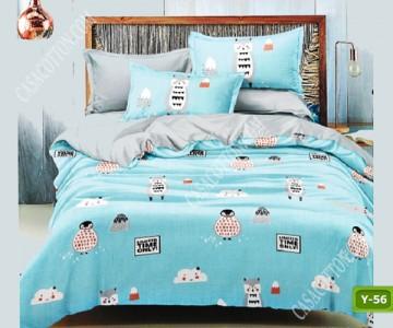 Единично спално бельо с код Y-56