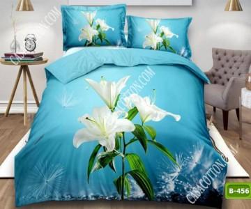 5D спално бельо с код B-456