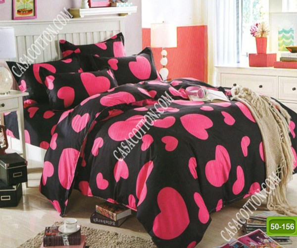 Двулицево спално бельо от 100% памук, 4 части с код 50-156