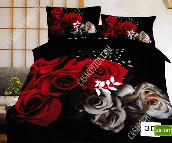 5D спално бельо с код 40-107