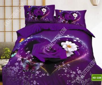 5D спално бельо с код 40-108
