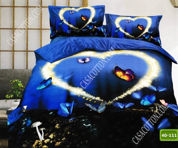 5D спално бельо с код 40-111