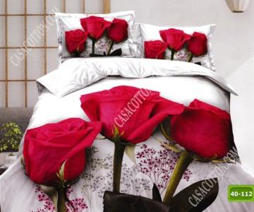 5D спално бельо с код 40-112