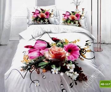 5D спално бельо с код 40-117
