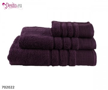 Хавлиени кърпи Мика - тъмно лилаво