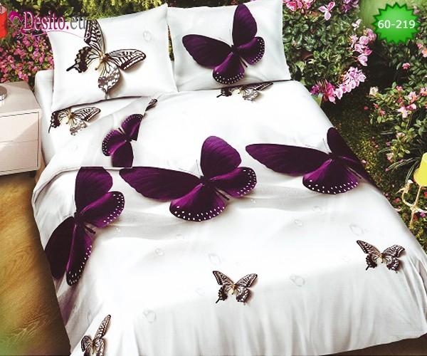 Спално бельо, 100% памук, 6 части с код 60-219
