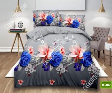 5D спално бельо с код B-487