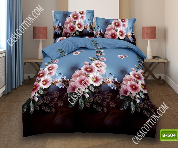 5D спално бельо с код B-504