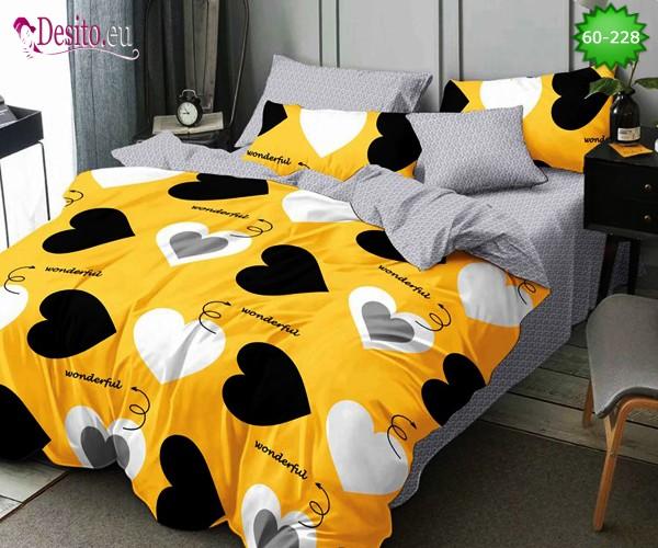 Спално бельо, 100% памук, 6 части с код 60-228