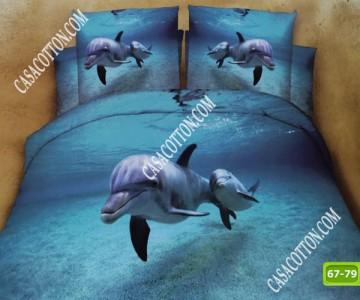 5D спално бельо с код 67-79