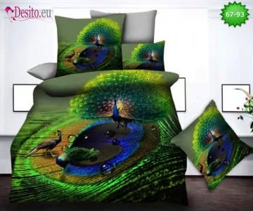 5D спално бельо с код 67-93