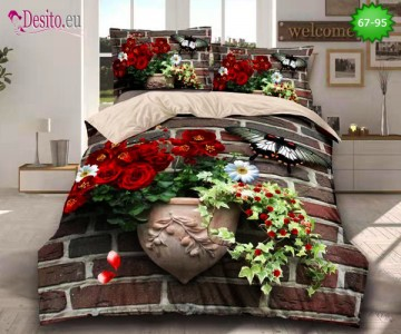 5D спално бельо с код 67-95