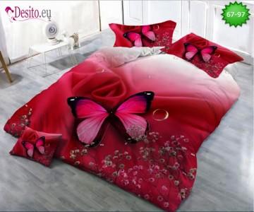 5D спално бельо с код 67-97