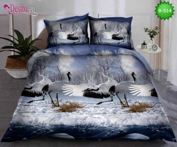 5D спално бельо с код B-514