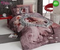 3D Единичен спален комплект B031 VIOLIN