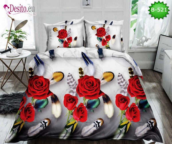 5D спално бельо с код B-521