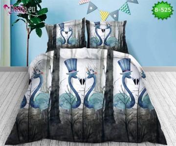 5D спално бельо с код B-525