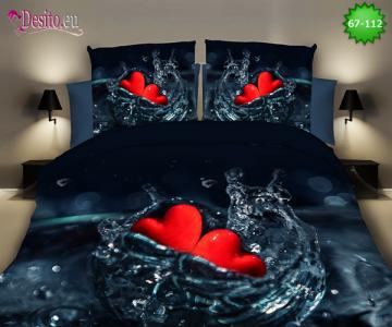 5D спално бельо с код 67-112
