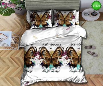 5D спално бельо с код B-535