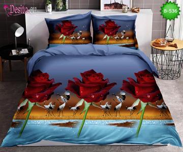 5D спално бельо с код B-536