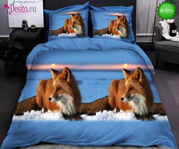 5D спално бельо с код B-551